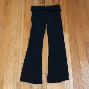 Pants - So Low Black Yoga Pants